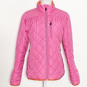 LANDS' END-Quilted Puffer Jacket. Large